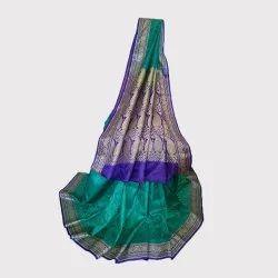 Firoza Tush Silk Saree