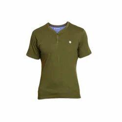 Henley Neck T-Shirts