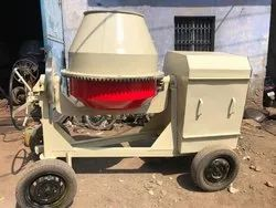 Semi-Automatic Stainless Steel Concrete Mixer, Output Capacity: 560 liters