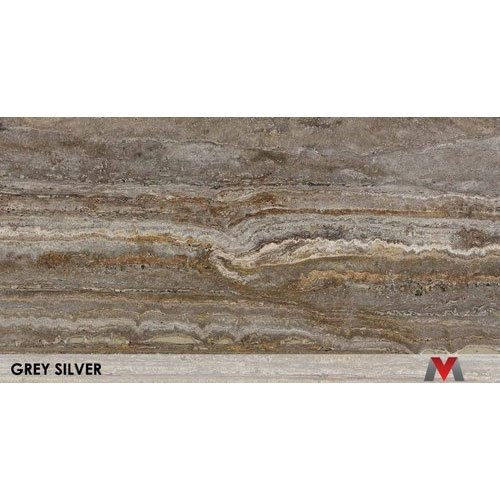 Grey Silver Marble