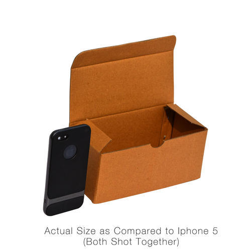 Rectangular Cardboard Eyewear Packaging Box 2