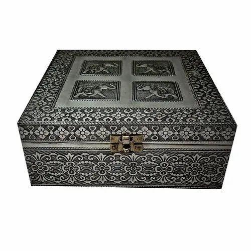 Handcrafted Wooden Storage Box