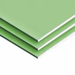 12.5MM Moisture Resistant Gypsum Board, Thickness: 12.5 Mm