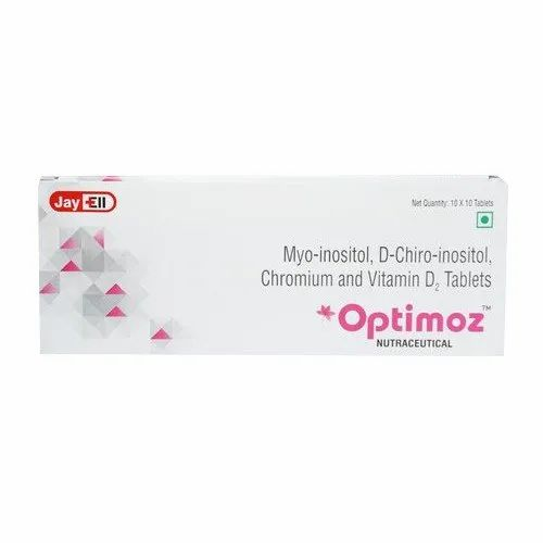 Myo Inositol D Chiro Inositol Chromium And Vitamin D2 Tablets