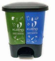 Plastic Cello Kleeno Dual Dust Bin 20ltr