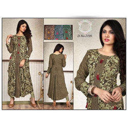 Ladies Ethnic Printed Rayon Kurti