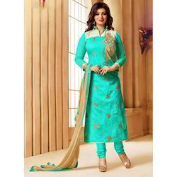 Party Wear Ladies Designer Churidar Suit
