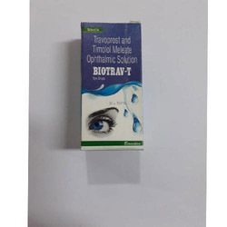 Travoprost and Timolol Meleate Eye Drops