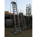 Wide Step Trolley Ladder