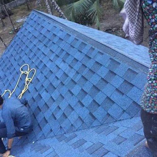 Midnight Blue Shingle Roofing Shingle Pallimukku Road