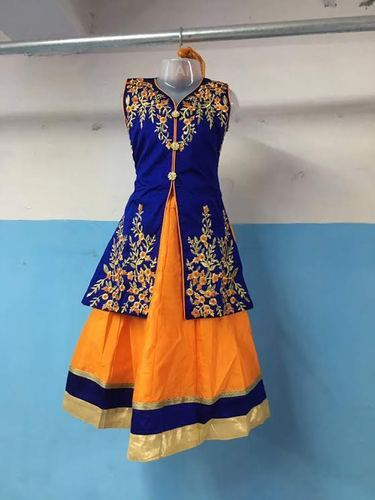 0e2b0e4251d68f Female Blue Baby Girl Designer Dress