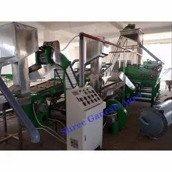 Automatic Cashew Cutting and Scooping Line