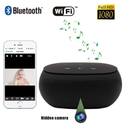 Safety Net Wireless Hidden Spy Camera Bluetooth Speaker with Invisible Lens - Remote View-IP Camera