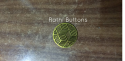 Round Wooden Fancy Buttons