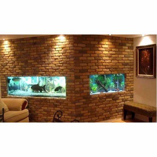 Decorative Wall Mounted Aquarium