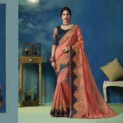 Party Wear Fancy Work Saree