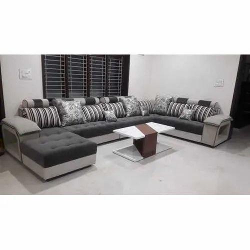 Grey King Size Sofa Set Rs 20000