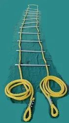Rope Ladder Aluminium Steps