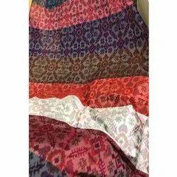 Ikat Silk Fabric, GSM: 50, Packaging Type: Roll