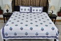 Floral Print King Size Bedsheet