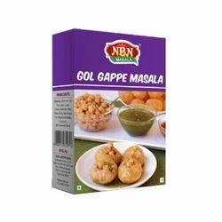 NBN 50 g Gol Gappe Masala, Packaging: Packet