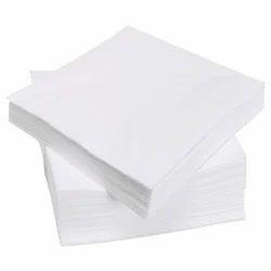 White Cotton Tissue Paper, Size: 190mm*160mm