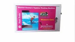Manual Sanitary Napkin Vending Machine