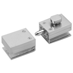 Aoric Stainless Steel Glass Door Knob Lock With Strike Box