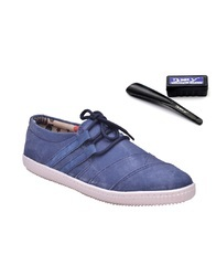 Canvas Casual Wear Men Sneakers, Size: 6 to 10