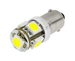 T-10 Wedge 5 SMD 5050 LED Lights Bulb