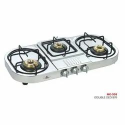 MC-308 Oval Three Burner Stove