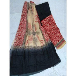 Hand Block Printed Salwar Suit