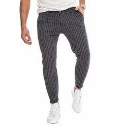 Mens Narrow Fit Cotton Trouser