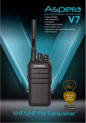 Aspera V-7 LF Walkie Talkie Radio