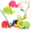 Elephant Shape Mobile Stand