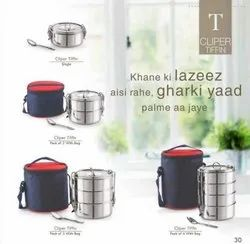 S.S.Double Wall Insulated Tiffin