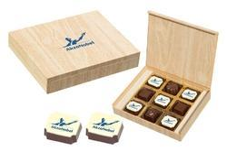 Square Chocolate Box