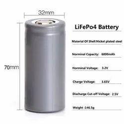 Lithium Phosphate 32650 3.2V 6000MAH LFP Battery
