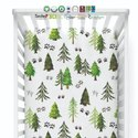 Organic Multi Color Crib Sheet