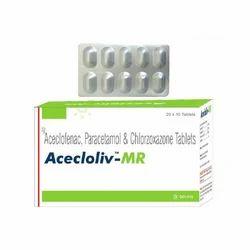 Aceclofenac Paracetamol And Chlorzoxazone