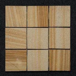 Teak Sandstone Mosaic Tile