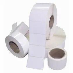 White Plain Chromo Labels, For Packaging