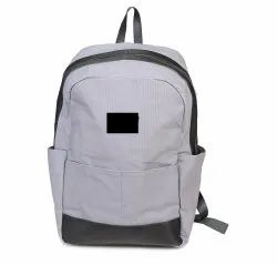 MON EXPORTS Waxed Canvas and Genuine Leather Backpack