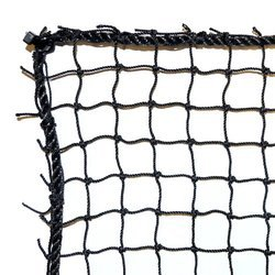 Black Single Hockey Net