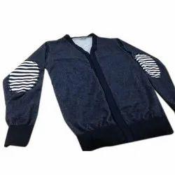 Mens V Neck Full Sleeve Casual T Shirt, Packaging Type: Packet