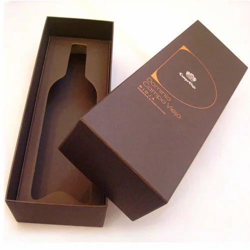 Hardboard Wine Box
