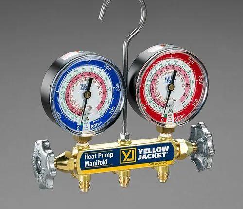Manifold Gauge - Yellow Jacket Heat Pump Manifold 42041