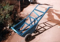 Mild Steel Angle Trolley, For Industrial