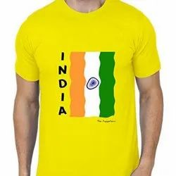 Hosiery Casual Wear India T-Shirt, Age Group: 16 - 60 Years