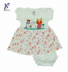Baby Girl Printed Frock